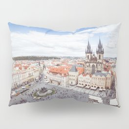 Old Town Square in Prague Pillow Sham