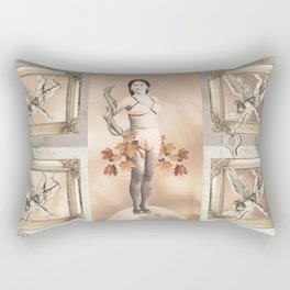 Snow White and the Falling Angels Septet Rectangular Pillow