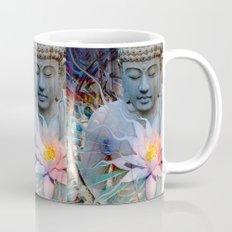 Living Radiance - Buddha and Lotus Flower Zen Meditation Art Mug