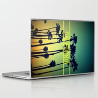 california Laptop & iPad Skins featuring CALIFORNIA by RichCaspian