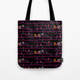 Donkey Kong Retro Arcade Gaming Design Tote Bag