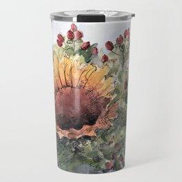 Bouquet with sunflowers Travel Mug