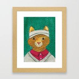 Golf Catty Framed Art Print