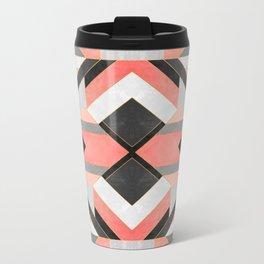 Peach Deco 1 Metal Travel Mug