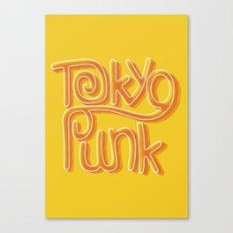 Tokyo Punk Canvas Print