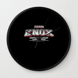 Team KNOX Family Surname Last Name Member Wall Clock