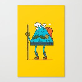 Mr. Mountain Man: Sunny Day Canvas Print