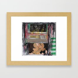 Table for Two Framed Art Print