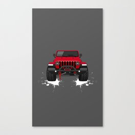 BIG RED TOBY Canvas Print