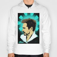 tony stark Hoodies featuring Tony Stark. by Tomcert
