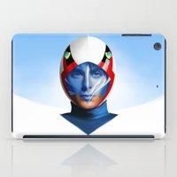 ace iPad Cases featuring ACE GOODHEART by John Aslarona