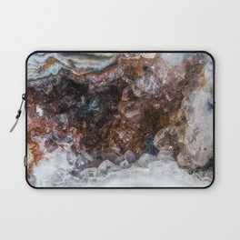 Tiny geode crystal cave Laptop Sleeve