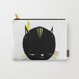 MIGHTY TIGARRR, BLACK KITTEN 묘 Carry-All Pouch