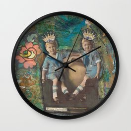 Prince Perfection Wall Clock