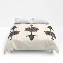 La Transcendance de la Rose Comforters
