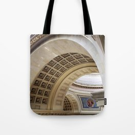 Wisconsin Capitol Building Arches And Angles Tote Bag