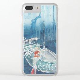 Go Deep Clear iPhone Case