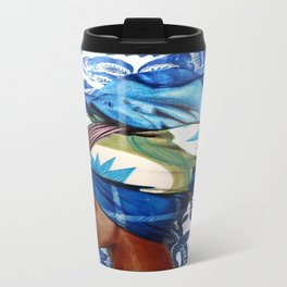 Turban lady Travel Mug