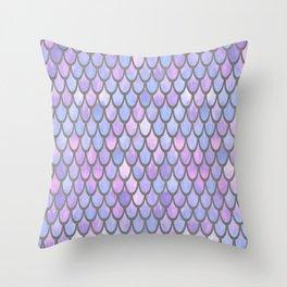Mermaid Scales - Dream Throw Pillow