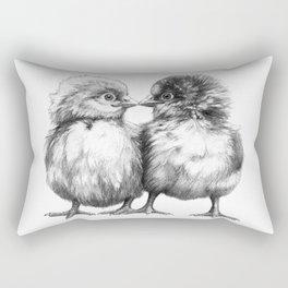 Baby Chicks - Little Kiss G133 Rectangular Pillow