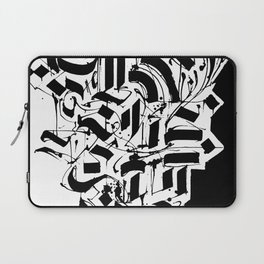 CALLIGRAPHY N°3 ZV Laptop Sleeve