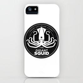 Gigant Squid iPhone Case