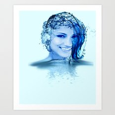 Made of water Art Print