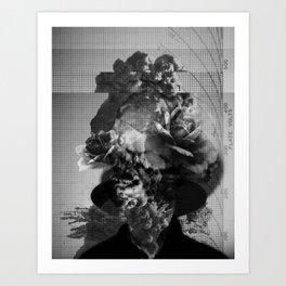 A portrait. Art Print