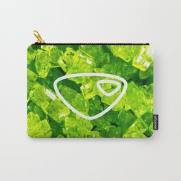 Peridot Candy Gem Carry-All Pouch
