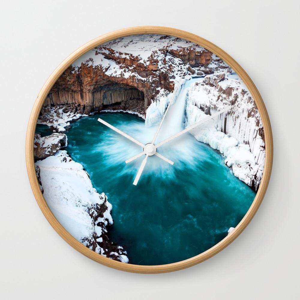 Magic In The Air Wall Clock by Cryptoman CLK8315860