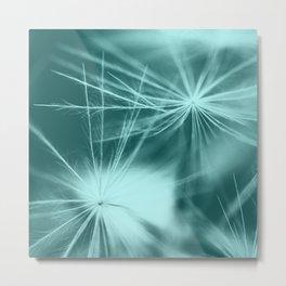 dandelion art 2 Metal Print