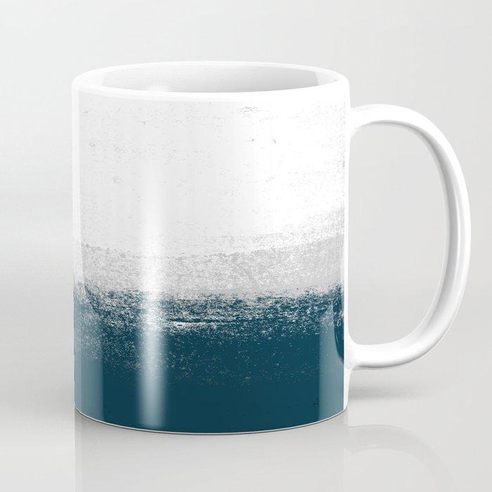 Good 1   Minimal Ocean Sea Ombre Design Coffee Mug