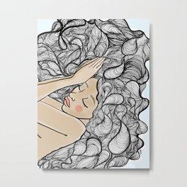 Sleep on it Metal Print