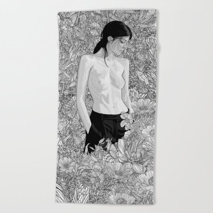 Ambient Beach Towel