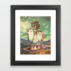 In the Valley Framed Art Print