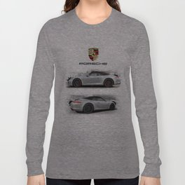 Cars: 911 Porsche Carrera GTS Long Sleeve T-shirt