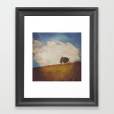 A Beautiful Afternoon Framed Art Print