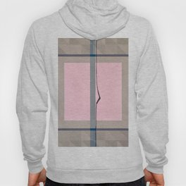 In the Pink - geometric graphic Hoody