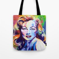 wasted rita Tote Bags featuring Rita by palominolane
