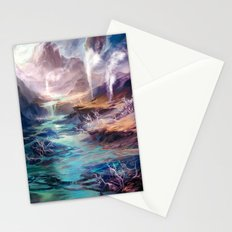 Polluted Delta Stationery Cards