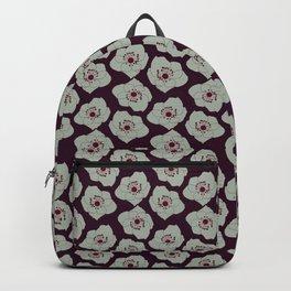 blue hellebores 1 Backpack