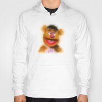 muppets Hoodies featuring Fozzie, The Muppets by KitschyPopShop