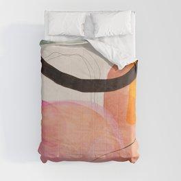 mid century organic shapes spring 21 /3 Comforters