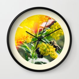 Bee's Knees Wall Clock