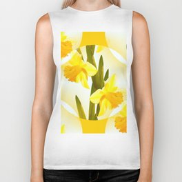 Spring Yellow Flowers #decor #society6 #buyart Biker Tank