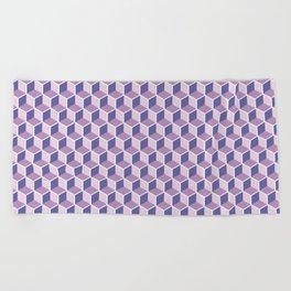 Unicorn Honeycomb Beach Towel