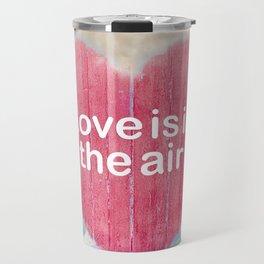 Love Concept Poster Design Travel Mug