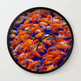 I Love Fishes Wall Clock