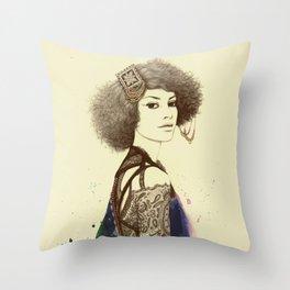 Nebula II Throw Pillow