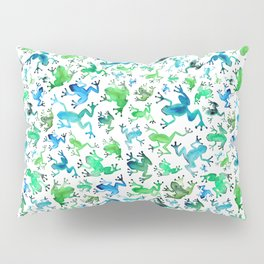 Tree Frogs Pillow Sham